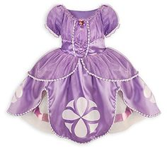 Disney Store Sofia the First Costume Dress: Size XXS 3 Di…