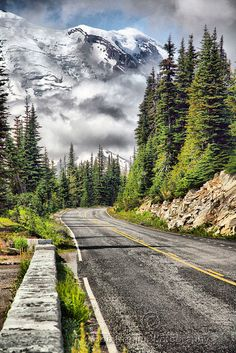 Taking the High Road ~ Mount Rainier National Park, Washington