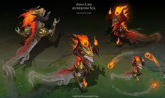 Ashen Lord Aurelion Sol by Yideth on DeviantArt