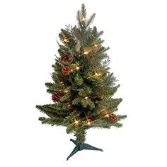 cool  Holiday Lighting Seasonal Decor Christmas Decoration  #BethlehemLights  https://www.silkyflowerstore.com/product/gkibethlehem-lighting-green-river-spruce-christmas-pre-lit-with-35-clear-mini-lights-on-a-plastic-tree-stand-2/  #BethlehemLights