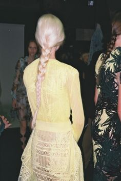 Erdem Spring 2015 RTW – Backstage — Vogue