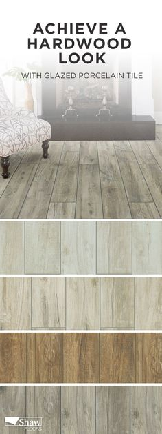 Available In 4 Colors, Savannah Tile Has The Look Of Hardwood And Is Hand  Scraped