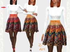 The Sims Resource: Fall Colors by Zuckerschnute20 • Sims 4 Downloads