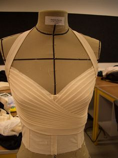 Draping a top