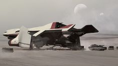 The Starlifter is the concept design I created for the Star Citizen universe STARLIFTER Utilizing the patented Hercules military-grade spaceframe and expanding cargo capacity, while sacrificing barely any firepower, the has taken the private Star Citizen, Concept Ships, Concept Art, Mexico 2018, Sci Fi Ships, Star Wars, Space Travel, Space Crafts, Interstellar
