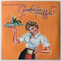 American Graffiti Double LP Vinyl Record Album MCA Records