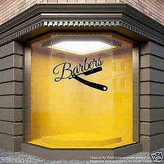 Barber shop #razor window #sticker barbers display #decal,  View more on the LINK: 	http://www.zeppy.io/product/gb/2/221923057036/