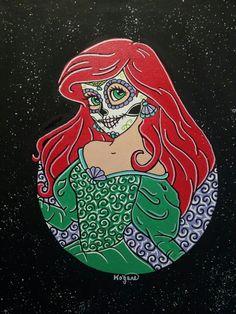 Ariel Sugar Skull Princess ○ Kitty OGane ( My Art )