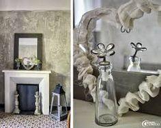 """Résultat de recherche d'images pour """"decorer sa cheminee shabby"""""""