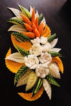 Discover recipes, home ideas, style inspiration and other ideas to try. Amazing Food Decoration, Fruits Decoration, Amazing Food Art, Easy Food Art, Food Art For Kids, Creative Food Art, Watermelon Art, Watermelon Carving, Edible Fruit Arrangements