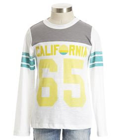 Makes me long for Fall....and a trip to California.  From Peek, youth sizes XS-XXL.