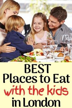 When travelling abroad with children, you may find it difficult to find a restaurant that both you and your children will like. We've been to London several times with our kids and have found what we believe to be the best places to eat with kids in London.