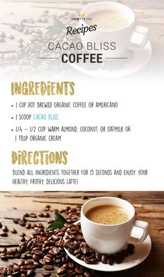 Super Healthy Coffee: Good for Your Health and Slims the Waistline - Danette May Baking Powder Uses, Baking Soda Uses, Dannette May Recipes, Diet Recipes, Healthy Recipes, What Is Baking, Danette May, Cacao Recipes, Recipes