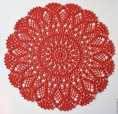 96628ce9acbf255f66788878ef2ba9e4.jpg (1500×1455)Купить КОРИЦА салфетка декоративная - терракотовый, салфетка вязаная крючком, ажурная салфетка, круглая салфетка