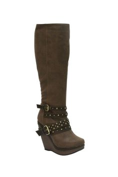 EXTREME by Eddie Marc Lexi Tall Wedge Boot