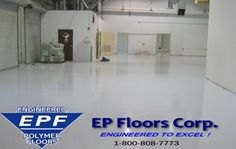 ESD Flooring Whether your project needs the complete removal of unsuccessful systems due to the poor material selection or installation is a new flooring project, we at EP Floors Corp strive to provide you the best solution with our ESD Flooring Epoxy.