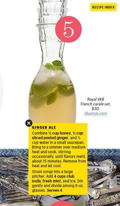 Homemade Ginger Ale