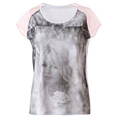 Touch of Brigitte Bardot from La Redoute Brigitte Bardot, Athletic Tank Tops, T Shirt, Mademoiselle, Initials, Women, Collection, Fashion, Womens Fashion