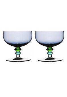 Zestaw szklanych miseczek - dwa kolory do wyboru