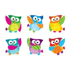 Owl-Stars!<sup>®</sup> Mini Accents Variety Pack from TREND. Teacher-created, award-winning learning products for Pre-K to Grade 9. TRENDenterprises.com