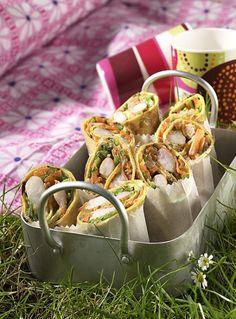 Pfannkuchen-Wrap - Herzhafte Picknick Rezepte - 16 - [ESSEN & TRINKEN]