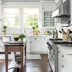 Elegant White Kitche