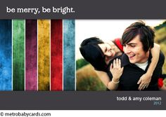 Festive Design - Holiday Cards - www.metrobabycards.com