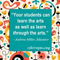 Arts integration + project-based learning? Yes, please! Find ideas on how to bring the arts into your next project.