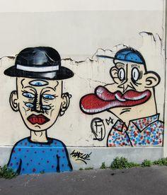 Paris, street art, Sarcé