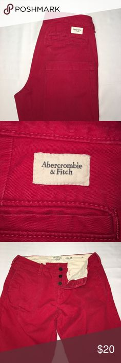 Abercrombie & Fitch button fly chinos 33x32 (0035) Abercrombie & Fitch button fly chinos 33x32 (0035) Abercrombie & Fitch Pants Chinos & Khakis
