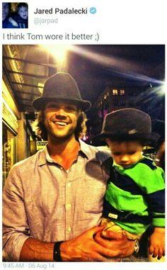 Jared & Tom Padalecki #Supernatural #SpnFamily #SamWinchester #JaredPadalecki #SPN #SpnFans #SpnTweets