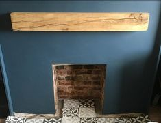 Love getting photos sent in. Here you have our Rustic Oak mantel in a clear wax finish