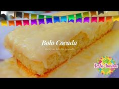 BOLO COCADA - ESPECIAL BOLOS JUNINOS - YouTube Comida Diy, Cheesecake, Favorite Recipes, Bundt Cakes, Youtube, Desserts, Candy Party, Cake Party, Sweet Recipes