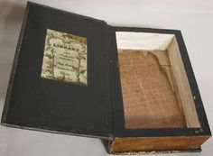 Hide important things in an old book by making people think you simply have a thick book.  Carve out pages to make a handy box.  Google Image Result for http://www.theartfulcrafter.com/images/SecretBook24.jpg