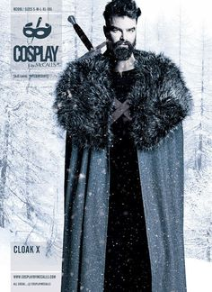 M2016 Costumes Game Of Thrones, Cosplay Costumes, Halloween Costumes, Cosplay Ideas, Costume Ideas, Halloween Sewing, Fall Sewing, Cloak Pattern, Cosplay Events