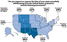 1 In 4 Americans Want Their State To Secede From The US | Zero Hedge