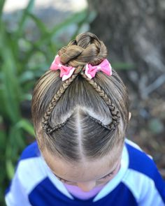Do you want by far the most fashionable and contemporary haircut for your own personal little one? Latest woolhairstyles are perfect suggestion for children's look. Girly Hairstyles, Little Girl Hairstyles, Braided Hairstyles, Hairstyle Ideas, Hair Ideas, Twist Bun, Rope Twist, Girls Braids, Toddler Hair