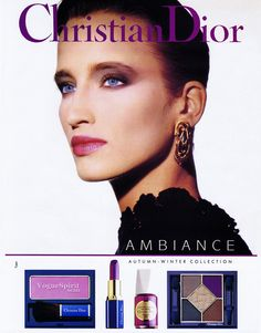 Lisa Fallon, Christian Dior 'Ambience' Ad 1990