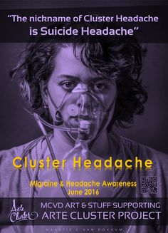 Arte Cluster shows purple for Migraine & Headache Awareness Month June '16 Arte Cluster *Awareness through Art* http://alcecluster.cefalea.it/index.php?option=com_k2&view=itemlist&layout=category&task=&id=&Itemid=546 #clusterkopfschmerz #cefalea