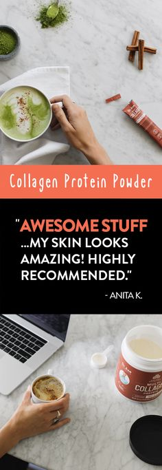 Boost your collagen with this Multi Collagen Protein that mixes easily into coffee, smoothies, baked goods, and more. Support healthy joints and skin with this tasteless powder you can mix into almost anything. Get Healthy, Healthy Tips, Healthy Skin, Health And Beauty Tips, Health And Wellness, Health Fitness, Health Diet, Collagen Protein, Natural Medicine
