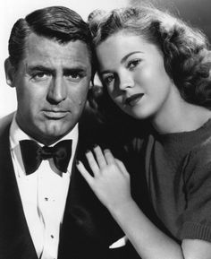 Shirley Temple with Cary Grant in The Bachelor and the Bobby-Soxer, 1947.