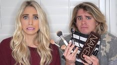 HUSBAND BUYS & DOES WIFE'S MAKEUP! (DOES AMAZING) - YouTube