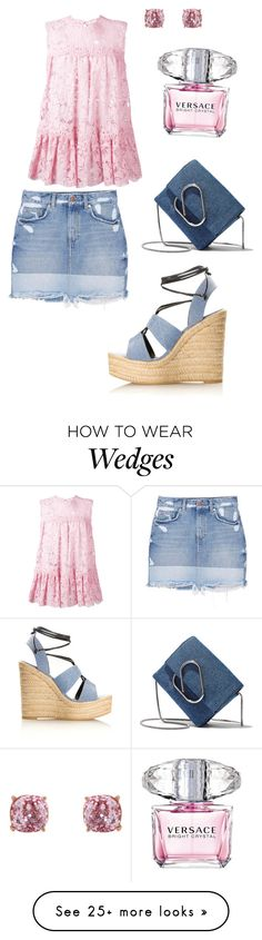 """""""Untitled #668"""" by angelina-vanessa on Polyvore featuring Alexander McQueen, MANGO, Humble Chic, Yves Saint Laurent, 3.1 Phillip Lim and Versace"""