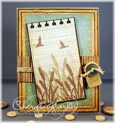 Serene Father's Day by elizgmom - Cards and Paper Crafts at Splitcoaststampers