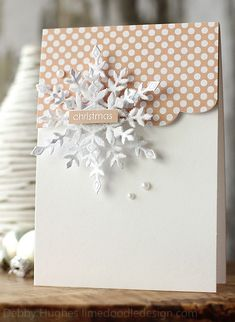 Absolutely Gorgeous Snowflake Card