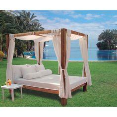 Outdoor Bereich Einrichten Sommerliche Möbel Bambus Himmelbett | Himmelbett  Für Garten | Pinterest | Himmelbett, Outdoor Und Bambus
