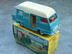 Dinky Toys Renault Estafette Camping 1960's 1:43 scale Original (Made in France)
