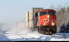 RailPictures.Net Photo: CN 2287 Canadian National Railway GE ES44DC at Wagaming, Ontario, Canada by Chris Wilson