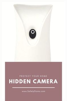 A camera is cleverly hidden in a air freshener, protecting your home. #homesecurity #securitycamera
