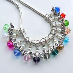 Crystal Pearl Guardian Angel Wings Charm Bead Fits European Bracelet Necklace | eBay